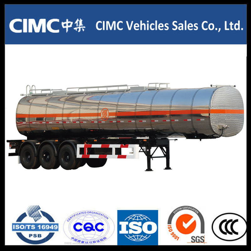 Hot Sale CIMC Fuel Tank Semi Trailer