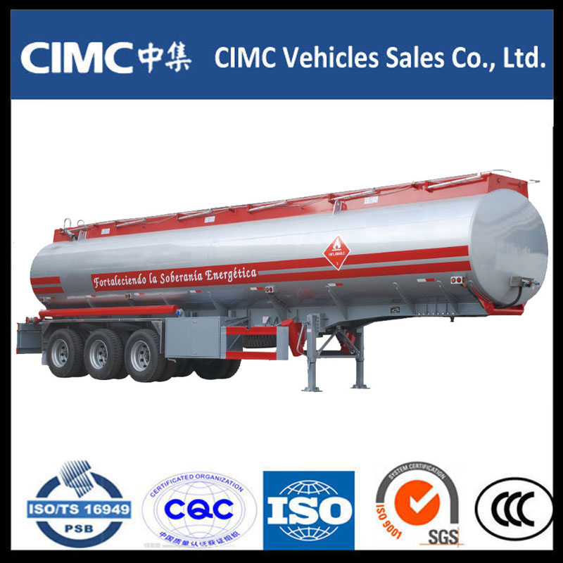 High Quality CIMC Fuel Tank Semi Trailer